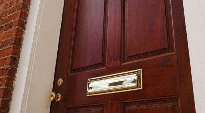 Теплоизоляция порога наружной двери